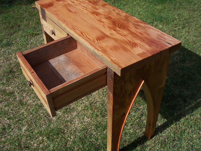 Recycled Lumber Furniture Custom Cabinetry Woodwork