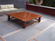 Custom Made IPE Coffee Table Wide Angle View