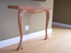 Custom Made Scrap Plywood - Console Table Left Side View