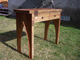 Custom Made Recycled Lumber Furniture Left Side View