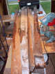 Custom Made Recycled Lumber Project Raw Wood